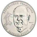 Moneda 1 franco 1996 de Jacques Rueff