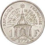 Monete 1 franco 1995 istituto della Francia