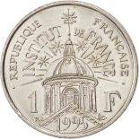 Münzen 1 Franc 1995 französisches Institut