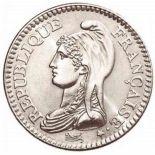 Coin 1 franc 1992 Republic