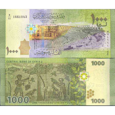 Billet de banque collection Syrie - PK N° 999 - 1000 Pounds