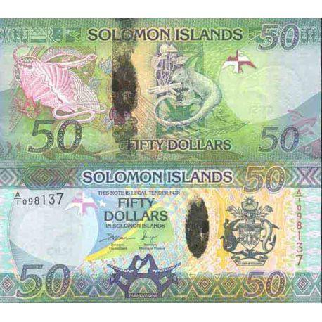 Billet de banque collection Salomon - PK N° 38 - 50 Dollars