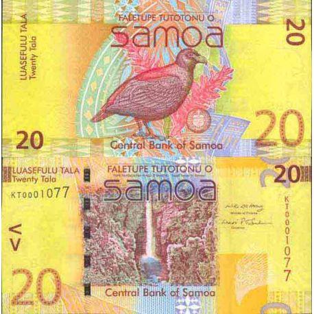 Billet de banque collection Samoa - PK N° 22 - 20 Tala