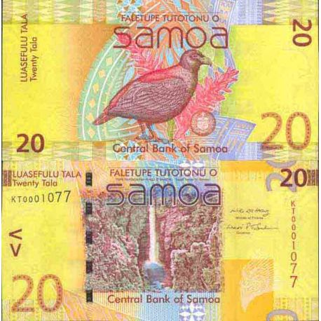 Billet de banque collection Samoa - PK N° 40 - 20 Tala