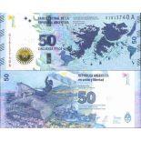 Billet de banque collection Argentine - PK N° 362 - 50 Pesos