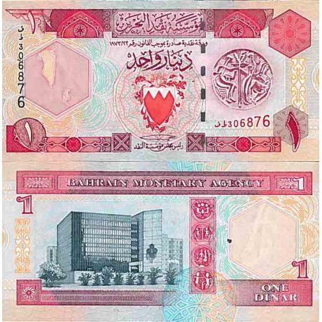 Billets de collection Billet de banque collection Bahrain - PK N° 19 - 1 Dinar Billets du Bahrain 17,00 €