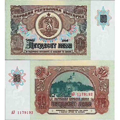 Banconote collezione Bulgaria - PK N° 98 - 50 aumentò