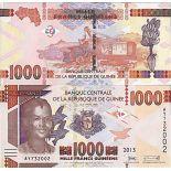 Billet de banque collection Guinee Francaise - PK N° 48 - 1000 Francs