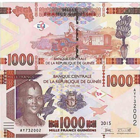 Billets de collection Billet de banque collection Guinee Francaise - PK N° 48 - 1000 Francs Billets de Guinée Française 2,00 €