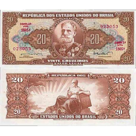 Billet de banque collection Bresil - PK N° 178 - 20 Real