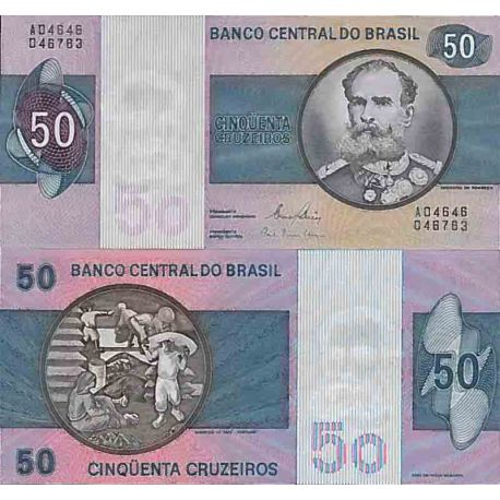 Billet de banque collection Bresil - PK N° 194 - 50 Real