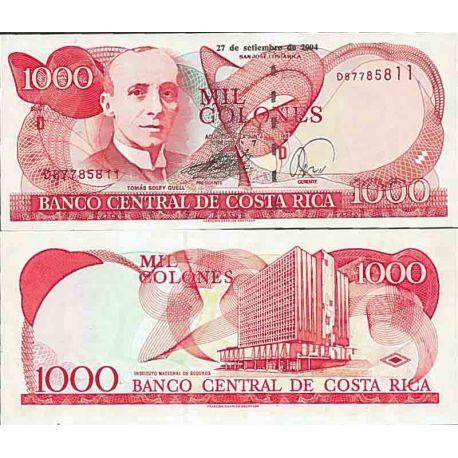 Banconote collezione Costa Rica - PK N° 264 - 1000 colonne
