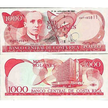 Banknote collection Costa Rica - Pick N° 264 - 1000 Columns