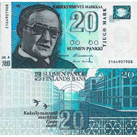 Billet de banque collection Finlande - PK N° 123 - 2 Markka