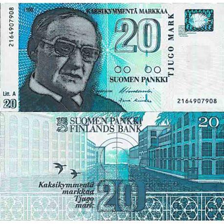 Billets de collection Billet de banque collection Finlande - PK N° 123 - 2 Markka Billets de Finlande 22,00 €