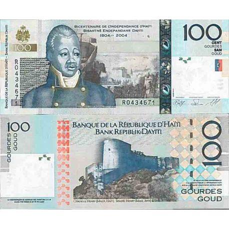 Billets de collection Billet de banque collection Haiti - PK N° 275 - 100 Gourdes Billets d'Haiti 12,00 €