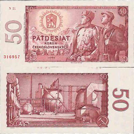 Billets de collection Billet de banque collection Tchecoslovaquie - PK N° 90 - 50 Korun Billets de Tchecoslovaquie 13,00 €