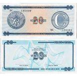 Billet de banque collection Cuba - PK N° 23FX - 20 Pesos