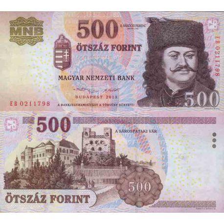 Banconote collezione Ungheria - PK N° 196 - 500 fiorino