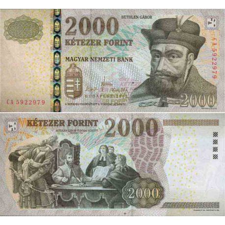 Billet de banque collection Hongrie - PK N° 198 - 2000 Forint