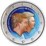 Pays-Bas - 2 Euro commémorative 2014 en couleur