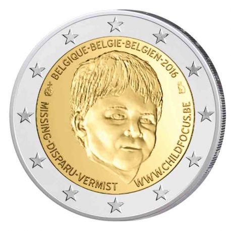 Belgien - 2 Euro Gedächtnis- 2016 Child Focus