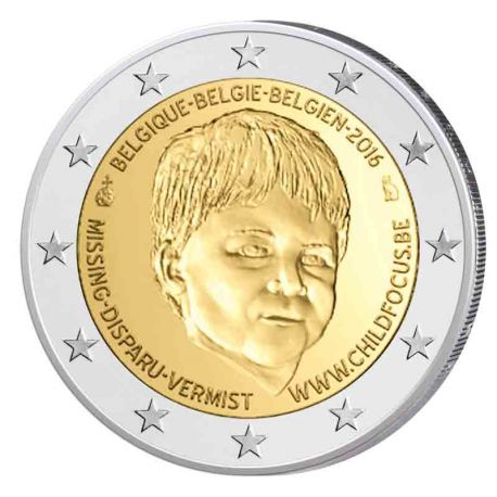 Belgique - 2 euro commémorative 2016 Child Focus