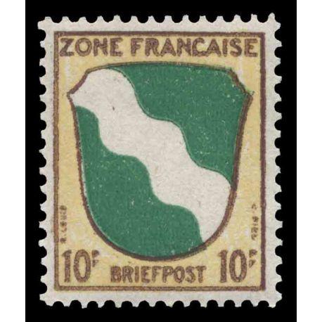 Francobollo collezione ZOFA N° Yvert e Tellier 5 nove senza cerniera