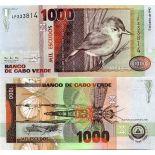 Collezione di banconote Capo Verde Pick numero 65 - 1000 Escudo 1992