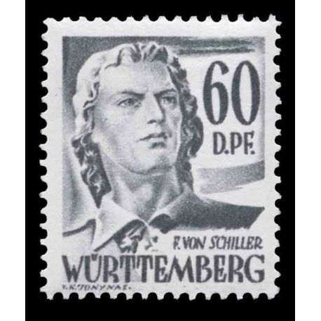 Timbre collection Wurtemberg N° Yvert et Tellier 25 Neuf sans charnière