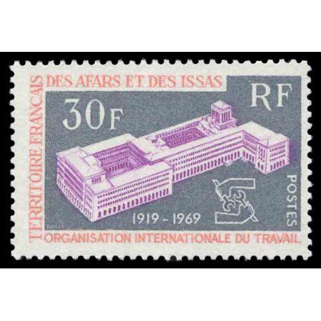 Francobollo collezione Afars ed Issas N° Yvert e Tellier 354 nove senza cerniera
