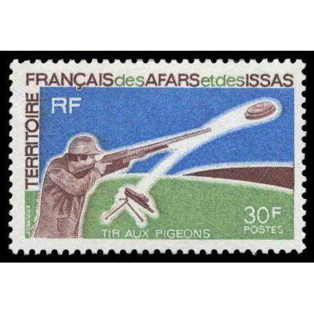 Timbre collection Afars et Issas N° Yvert et Tellier 361 Neuf sans charnière