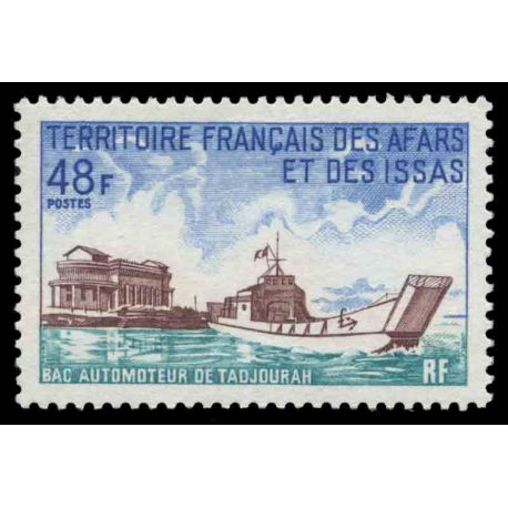 Timbre collection Afars et Issas N° Yvert et Tellier 367 Neuf sans charnière