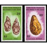 Timbre collection Afars et Issas N° Yvert et Tellier PA 83/84 Neuf sans charnière