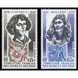 Timbre collection Afars et Issas N° Yvert et Tellier PA 87/88 Neuf sans charnière