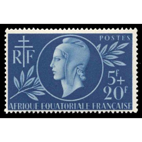 Timbre collection AEF N° Yvert et Tellier 197 Neuf sans charnière