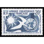 Briefmarke Sammlung AEF N° Yvert und Tellier 245 neun ohne Scharnier