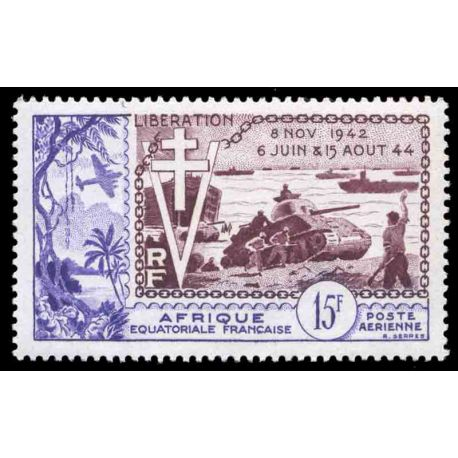 Timbre collection AEF N° Yvert et Tellier PA 57 Neuf sans charnière