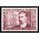 Francobollo collezione AOF N° Yvert e Tellier 47 nove senza cerniera