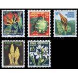 Timbre collection AOF N° Yvert et Tellier 68/72 Neuf sans charnière