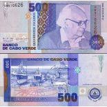 Billet de banque Cap Vert Pk N° 64 - 500 Escudos