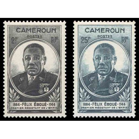 Timbre collection Cameroun N° Yvert et Tellier 274/275 Neuf sans charnière