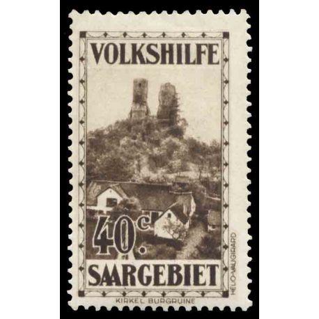 Timbre collection Sarre N° Yvert et Tellier 155 Neuf avec charnière