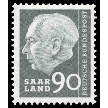 Francobollo collezione Saar N° Yvert e Tellier 379 nove senza cerniera