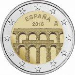 Spagna 2016 - 2 euro commemorativa SEGOVIA