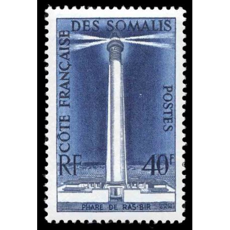Francobollo collezione Cote del Somalis N° Yvert e Tellier 286 nove senza cerniera