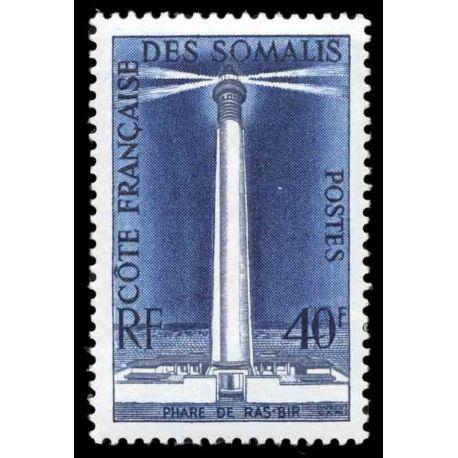 Timbre collection Cote des Somalis N° Yvert et Tellier 286 Neuf sans charnière
