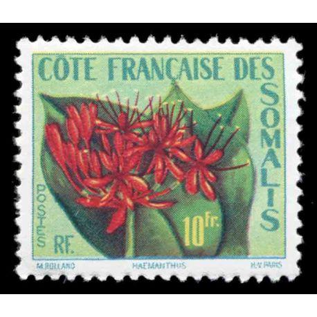 Francobollo collezione Cote del Somalis N° Yvert e Tellier 290 nove senza cerniera