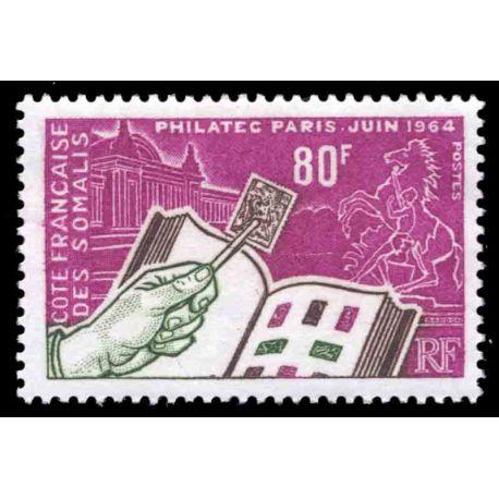 Francobollo collezione Cote del Somalis N° Yvert e Tellier 319 nove senza cerniera