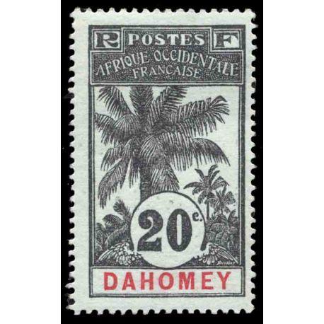 Francobollo collezione Dahomey N° Yvert e Tellier 23 nove con cerniera